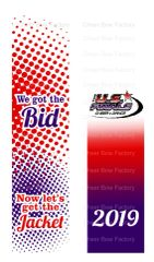 We Got The Bid Now Let's Get the Jacket Ready to Press Sublimation Graphic