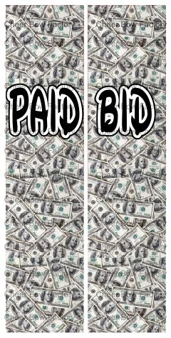 Paid Bid Ready to Press Sublimation Graphic