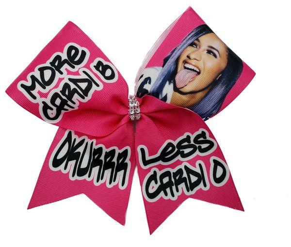 More Cardi B Less Cardi O Cheer Bow