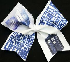 Doctor Who Cheer Bow