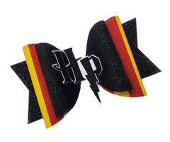 Harry Potter 3D Center Glitter Dolly Style Cheer Bow