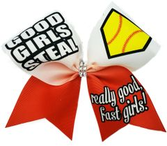 Good Girls Steal Really good, fast girls! Cheer Bow