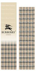 Burberry Inspired Sublimation Cheer Bow Graphic