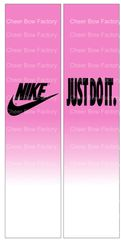 Nike Sublimation Cheer Bow Graphic