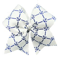Anchor Cheer Bow