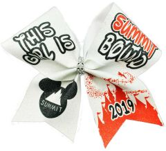 This Girls is Summit Bound Cheer Bow