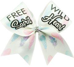 Free Spirit Wild Heart Cheer Bow
