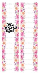 beYOUtiful Cheer Bow Ready to Press Sublimation Graphic