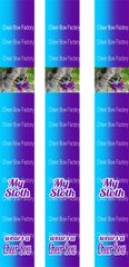 My Sloth Wears a Cheer Bow Keychain Sublimation Cheer Bow Graphic