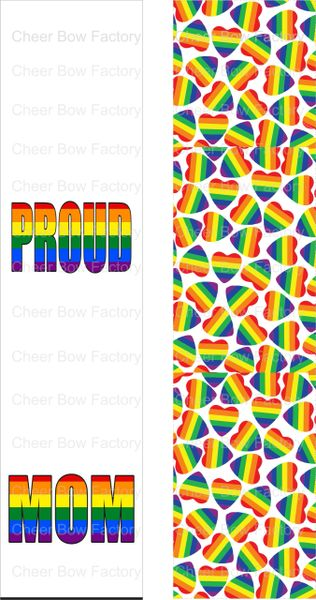 Proud Mom Pride Awareness Ready to Press Sublimation Graphic