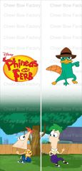 Phineas and Ferb Ready to Press Sublimation Graphic