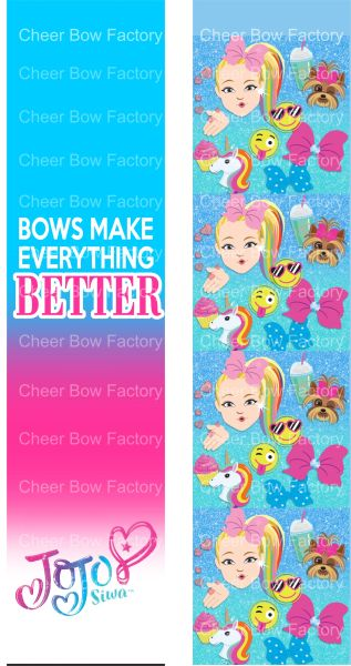 Bows Make Everything Better Jojo Ready to Press Sublimation Graphic