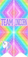 Team Unicorn Ready to Press Sublimation Graphic