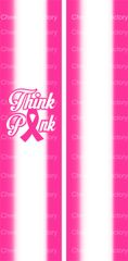 Think Pink Breast Cancer Awareness Ready to Press Sublimation Graphic