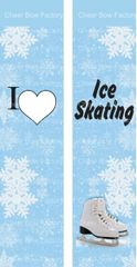 I Love Ice Skating Ready to Press Sublimation Graphic