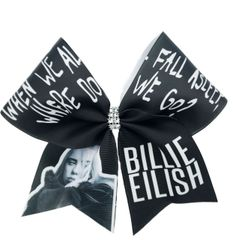 Billie Eilish Cheer Bow