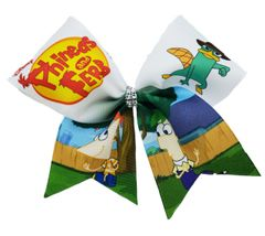 Phineas and Ferb Cheer Bow