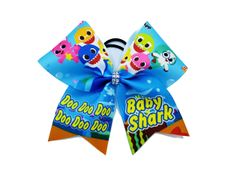 Baby Shark Cheer Bow