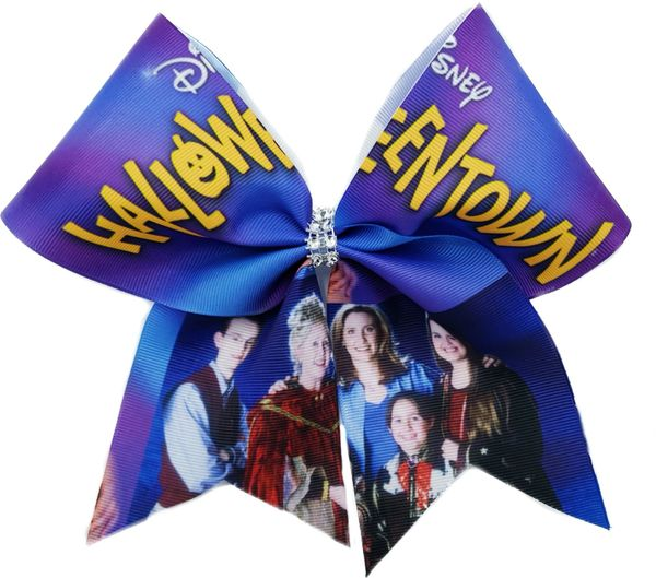 Halloweentown Cheer Bow