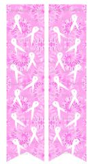 Breast Cancer Awareness Tie Dye Ready to Press Sublimation Graphic