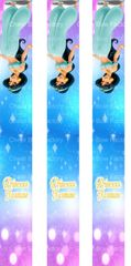 Princess Jasmine Keychain Ready to Press Sublimation Graphic