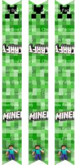 Minecraft Keychain Ready to Press Sublimation Graphic