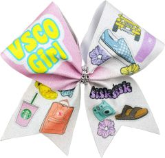 VSCO Girl Cheer Bow