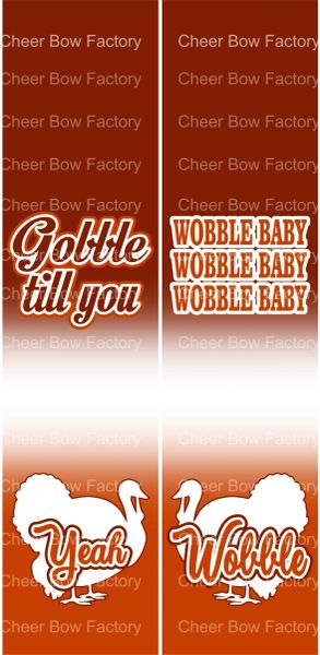 Wobble Baby Thanksgiving Ready to Press Sublimation Graphic