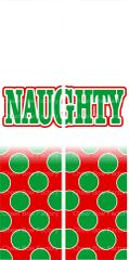 Naughty Christmas Ready to Press Sublimation Graphic