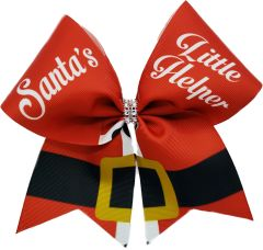 Santa's Little Helper Christmas Cheer Bow
