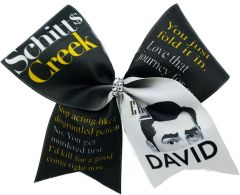 Schitts Creek Ew, David Cheer Bow