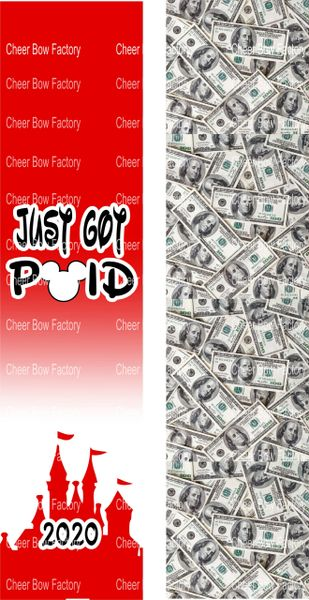Just Got Paid Ready to Press Sublimation Graphic