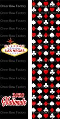 Las Vegas Nationals Cheer Bow Ready to Press Sublimation Graphic
