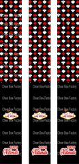 Las Vegas Nationals 2020 Keychain Sublimation Cheer Bow Graphic