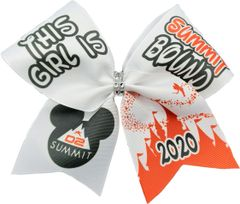 This Girl is D2 Summit Bound Cheer Bow