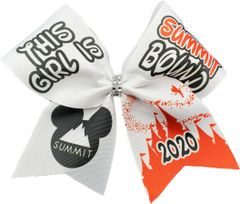 This Girl is Summit Bound Cheer Bow