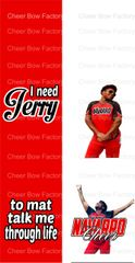 I need Jerry to mat talk me through like Sublimation Cheer Bow Graphic