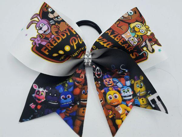 Five Nights at Freddys Ribbon Cheer Bow