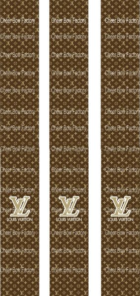 Louis Vuitton Key Chain Cheer Bow Ready to Press Sublimation Graphic
