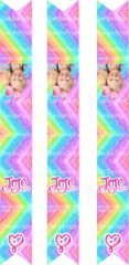 Jojo Key Chain Cheer Bow Ready to Press Sublimation Graphic