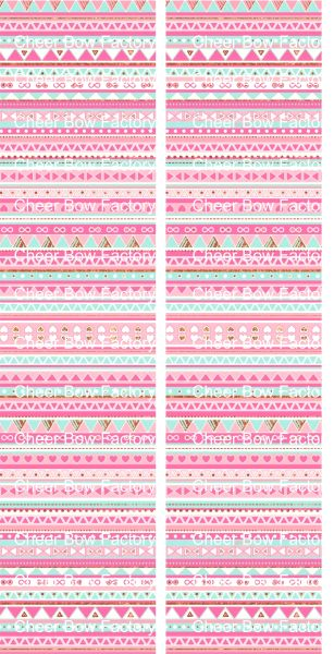 Aztec Pink Ready to Press Sublimation Graphic