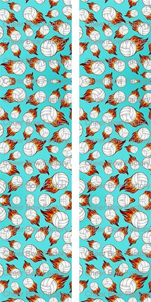 Vollyball Ready to Press Sublimation Graphic