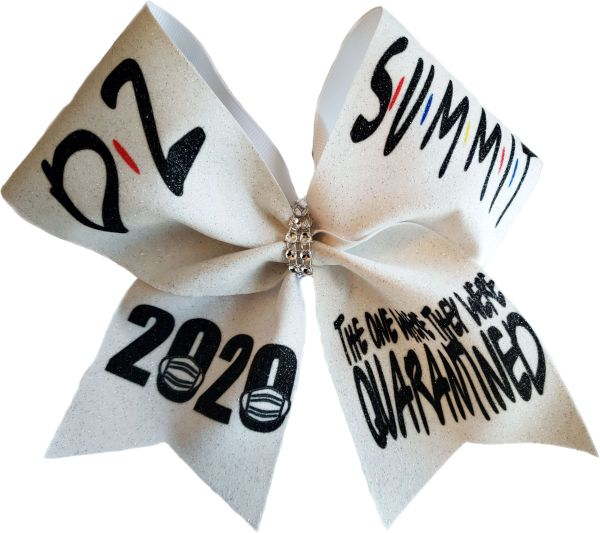 The One Where They Were Quarantined D2 Summit Cheer Bow