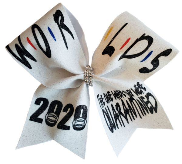 The One Where They Were Quarantined Worlds Cheer Bow
