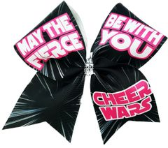 Cheer Wars May The Fierce Be With You Cheer Bow