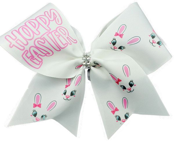 Hoppy Easter Cheer Bow