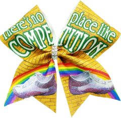 There's No Place Like Competition Cheer Bow