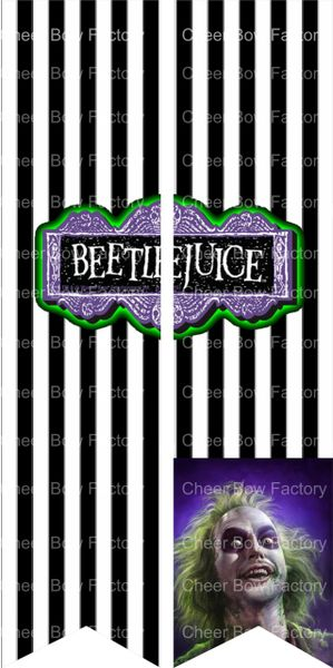 Beetlejuice Ready to Press Sublimation Graphic