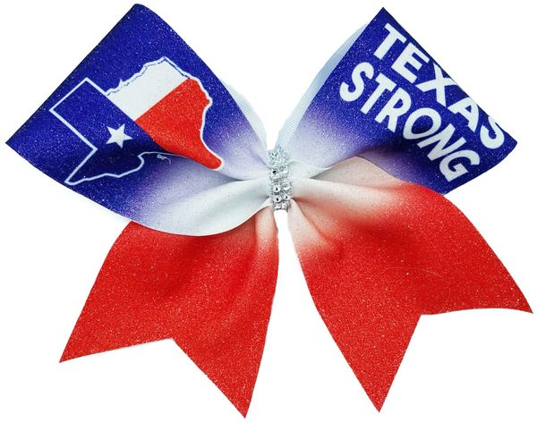 Texas Strong Cheer Bow