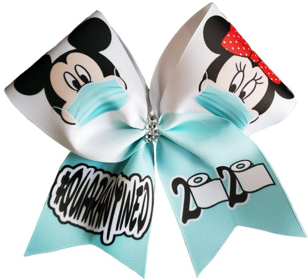 #Quarantine 2020 Cheer Bow